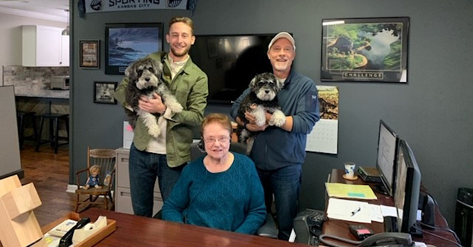 Butler Insurance with Dogs