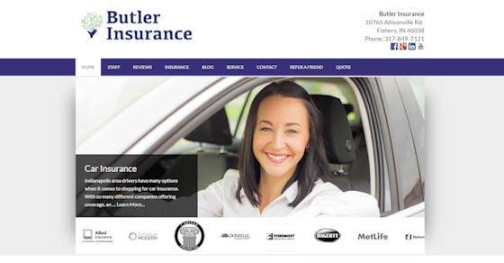 Butler Insurance Website