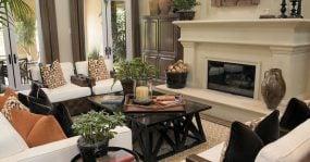 Living room of a nice home